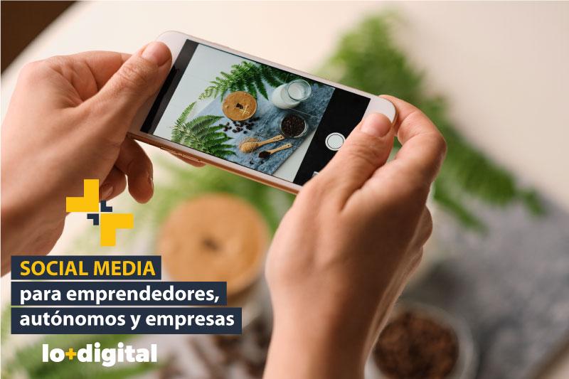 Curso de Social Media para emprendedores, autónomos y empresas